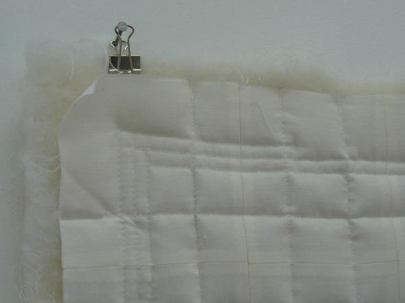 Hour Quilt - Installation set up (Hour 5 - Quilt)