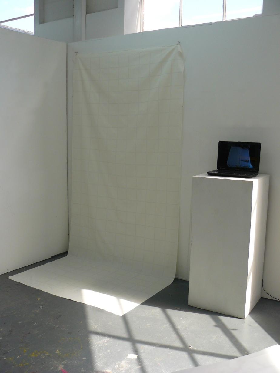1 Hour Quilt - Installation set up (Hour 1 - Mark Up)